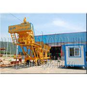 Бетонный завод мобильный 50 куб/час фото