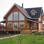 Дом из профилированного бруса фото