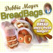 Пакеты для хранения хлеба и хлебобулочных изделий Bread Bags (Брэд Бэгз) фото