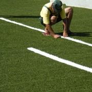 Установка спортивных площадок с искусственным покрытием при использовании новейшего специализированного оборудования фото