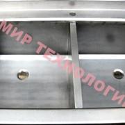 Стол производственный с полкой и ванной сварной СППВС фото