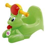 Дитячий горщик з музичною скринькою Spidy, колір зелений, артикул 37827230 фото