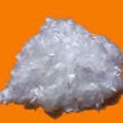 Полипропиленовое армирующее волокно (фибра полипропиленовая) фото