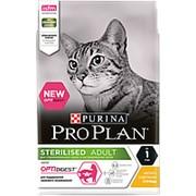 Pro Plan 1.5кг Sterilised Сухой корм для стерилизованных кошек с чувствительным пищеварением Курица фото