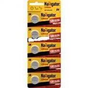 Батарейка Navigator 94780 CR1620 5шт. /20/ фото