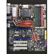Материнская плата MSI X48C Platinum MS-7353 под Intel Core 2 Extreme/Core 2 Quad, шина 800 МГц - 1600 МГц б/у фото