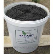 Каболка канализационная ф 6-8 мм (ведро 20 кг) фото