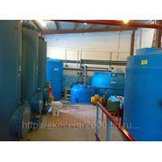 Очистные сооружения промышленных сточных вод фото
