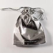 Мешочки для бижутерии серебряный 6 фото