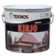 Teknos Kirjo Антикоррозионная краска по металу 0.9л. Текнос. фото