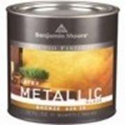 Benjamin Moore Metallic Glaze покрытие Металлик. 3.8л. Бенджамин Мур. фото