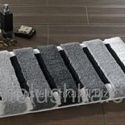 Коврик для ванной Confetti Selinus антрацит 60х100 см фото