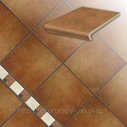 Ступень и плитка Stroeher, Серия Keraplatte ROCCIA rosso фото