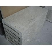 Копинговый камень (бежевый) 600*280 для борта 215мм фото