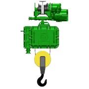Взрывозащищенный канатный электротельфер серия ВТ. С монорельсовой тележкой нормальная строительная высота фото