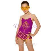 Купальник-платье для девочек фото
