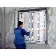 Монтаж металлопластиковых конструкций окон дверей фото