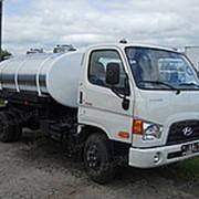 Автоцистерна пищевая Hyundai HD78, Молоковоз / Водовоз, 4х2 фото