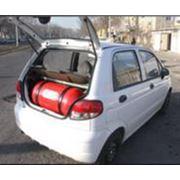 Заправка автомобилей сжатым газом метаном и пропаном фото