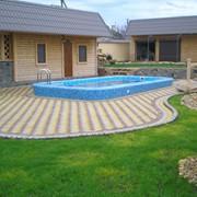 Строительство бассейнов, услуги по строительству бассейнов. фото