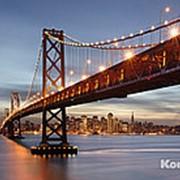 "Фотообои ""Мост Сан-Франциско"" 368х254 см фото"