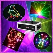 Лазер анимационный 1W RGB фото