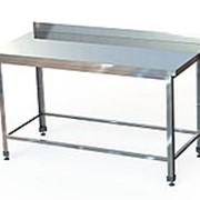 Стол производственный с бортом СПБ фото