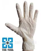 Латексные перчатки не опудренные (XS,S,M,L) фото