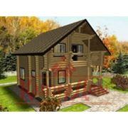 строительство деревянных домовкоттеджей фото