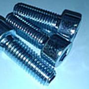 Винт с внутренним шестигранником 20x40мм цинк фото