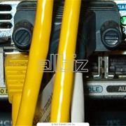 Прокладка опто-волоконного кабеля фото
