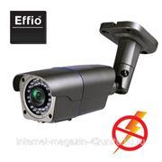 Уличная ИК-видеокамера 700 ТВЛ (960H) с грозозащитой, 1/3'' Super HAD CCD II, f=2,8-12 мм фото