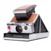 Фотоаппарат моментальной печати Polaroid Originals SX-70 серебристый/коричневый (4695) фото