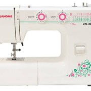 Машины бытовые швейные Швейная машина JANOME LW-30 (19 строчек, петля автомат, регуляторы длины стежка и ширины зигзага) фото
