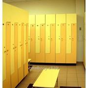 Шкафы для раздевалок, шкафчики гардеробные фото