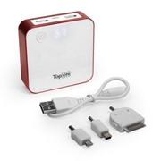 Портативное зарядное устройство (внешний аккумулятор) TopON TOP-QUAD/R 7800mAh фото