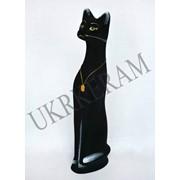 Копилка кот большой египетский черный № 2520 фото