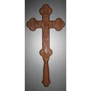 Крест деревянный фото