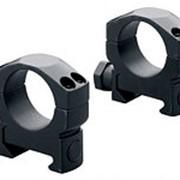 Кольца стальные Mark 4 на Weaver 30 мм высокие, матовые, винтовой зажим фото