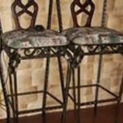 Кованные барные стулья фото