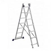 Лестница двухсекционная Алюмет H2 5207 фото