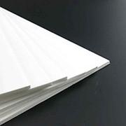 Вспененный поливинилхлорид (ПВХ) UNEXT 10 белый back side FR фото