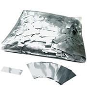 Конфетти - ''Метафан'' серебряный, металлизированный 1*4 см фото