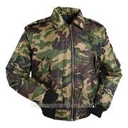 Куртка зимняя военного типа фото