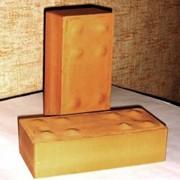 Кирпич керамический рядовой полнотелый одинарный фото