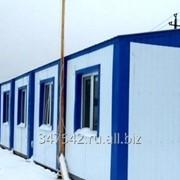 Быстроизводимое общежитие на 90 жителей. фото