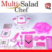 Набор для резки салатов Multi salad chef фото