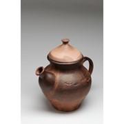 Чайник глиняный фото