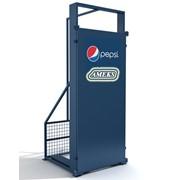 Антивандальная защита холодильника однодверная фото