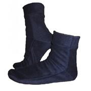 Носки флисовые темно-синие фото